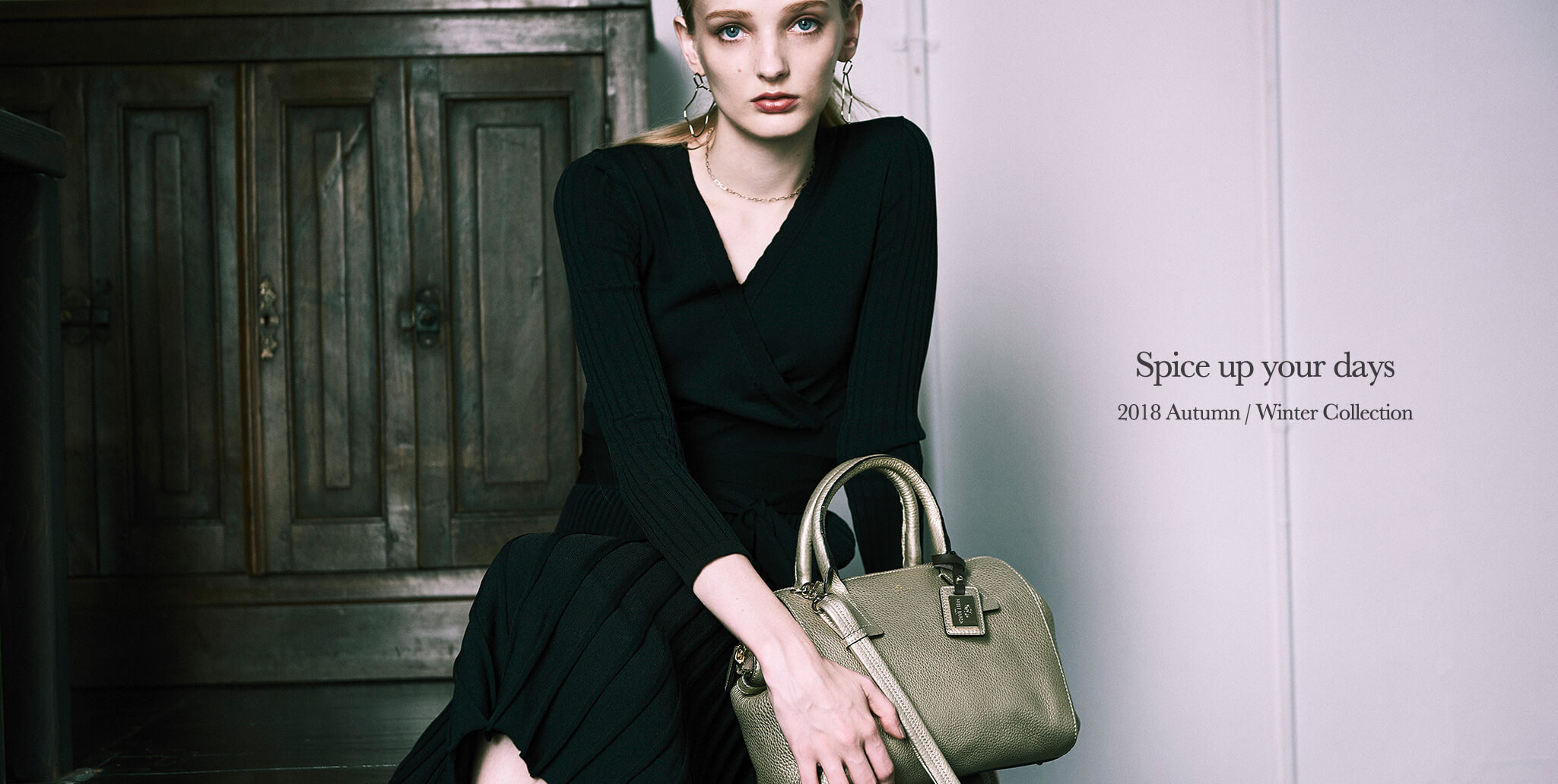 PELLE BORSA Spice up your days 2018 Autumn / Winter Collection Reinette新色